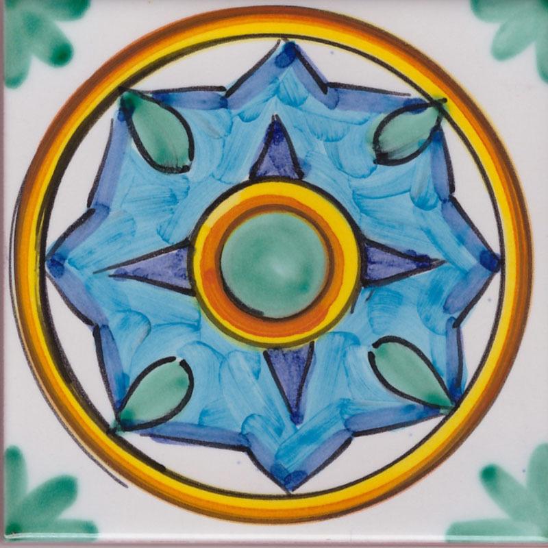 Piastrella Le Amalfitane 04 - Ceramiche di Vietri Shop On Line