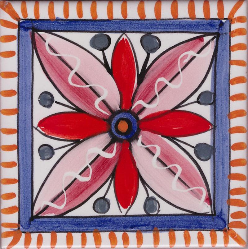Piastrella Le Amalfitane 05 - Ceramiche di Vietri Shop On Line