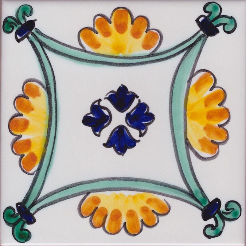 Ceramica di vietri per cucina piastrelle decorate per pavimenti - Piastrelle cucina vietri ...