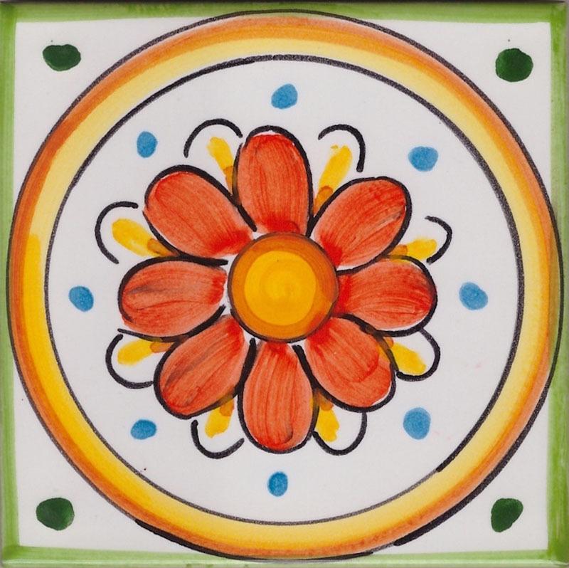 Piastrelle in Ceramica per Cucina - Mattonella La Vietrese 06