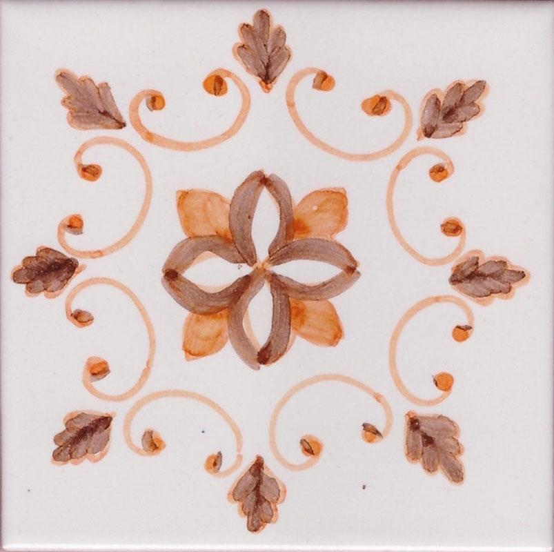 Piastrelle di ceramica decorative vietresi per stufe e caminetti
