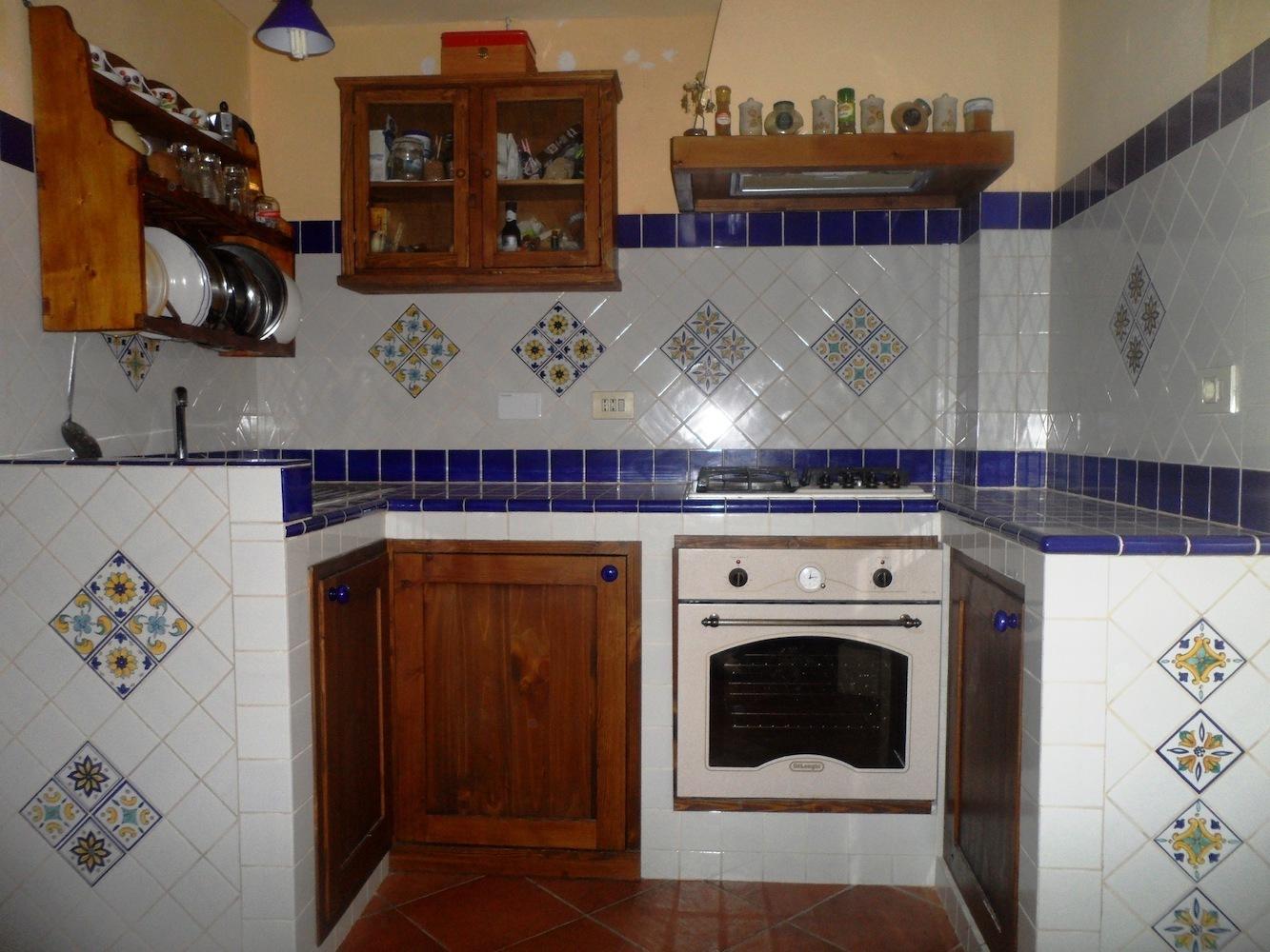 Torello dual color ceramica di vietri 10x12 cm ceramiche - Bagno in cucina ...