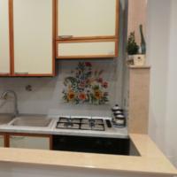 Composizione Fiori di Campo la Cucina in Muratura Vietrese