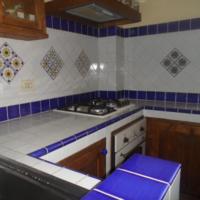 Composizione Maiori : la Cucina in Muratura Vietrese