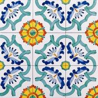 Piastrelle ceramiche di vietri piastrelle e cucine in for Piani di coperta 20x20