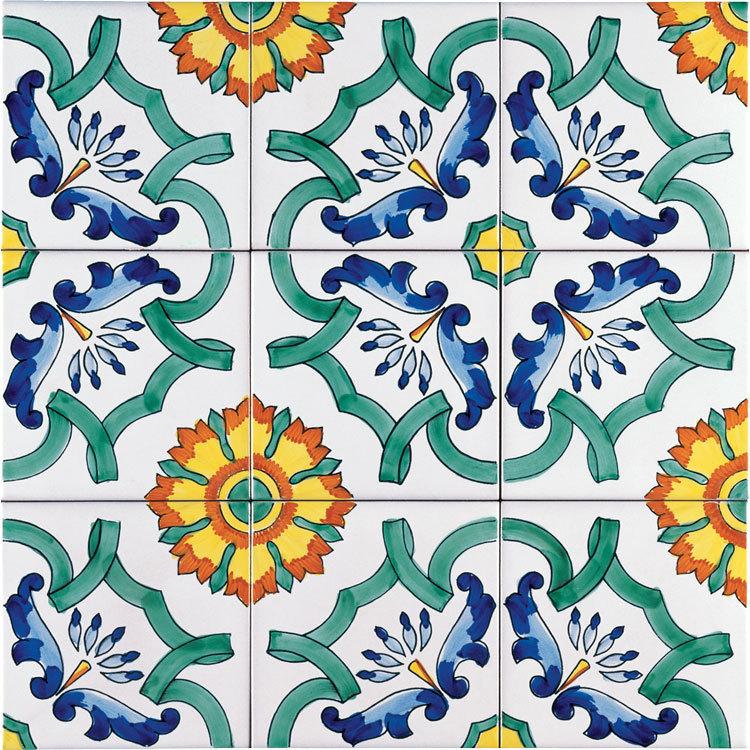 Ceramiche vietri dona eleganza e armonia al tuo bagno con le nostre piastrelle - Piastrelle decorate per pavimenti ...