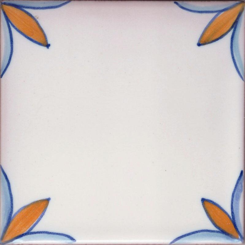 10x10 Piastrella Vietrese Le Riedizioni Mod. R00 - Ceramiche Antiche