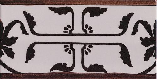 Elementi decorativi per bagno in stile vietrese piastrella 10x20 greca