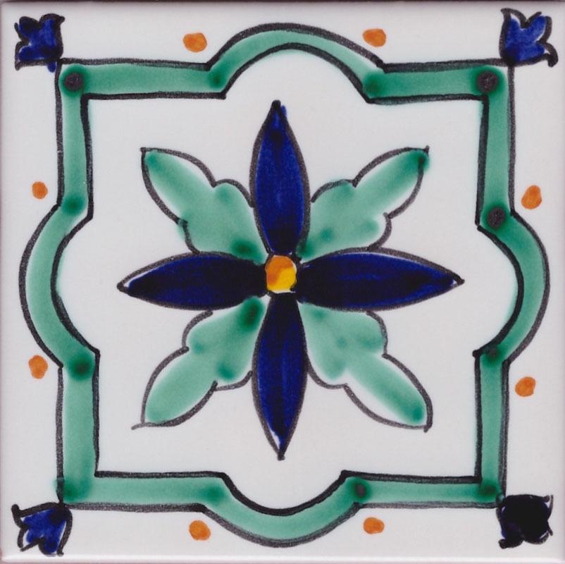 Piastrelle in Ceramica di Vietri per Cucina - Piastrella La Vietrese 28