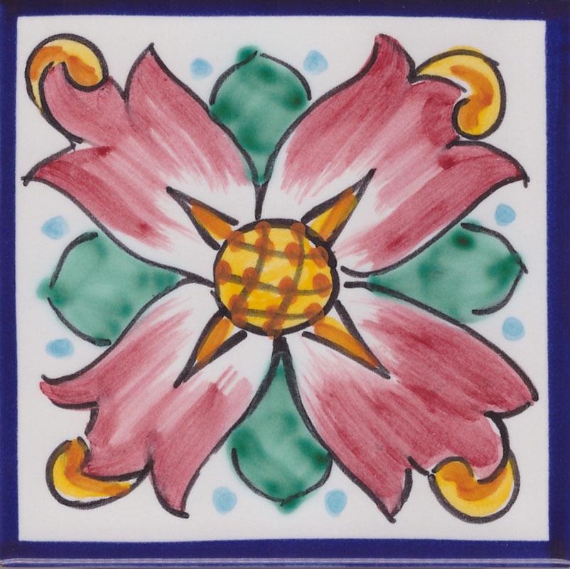 Piastrelle in Ceramica di Vietri per Cucina - Piastrella La Vietrese 35