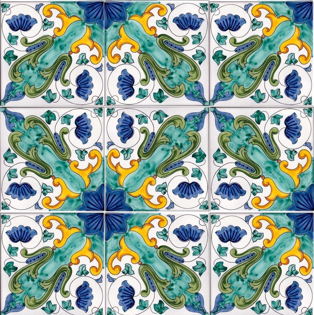 Piastrelle Di Ceramica Decorate.1 Mq Piastrelle Bagno Ceramica Per Pavimenti Mosaico 03
