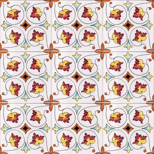 Ceramiche di vietri pavimenti mosaico piastrelle pavimento - Mattonelle in ceramica decorate ...