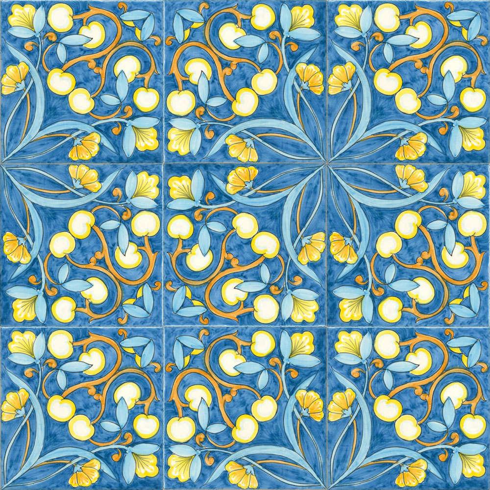 Vietri Ceramica: Decorazione a mosaico per bagno e sala relax