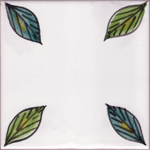 Vietri: Rivestimento Vietrese con mattonelle per Cucina Muratura