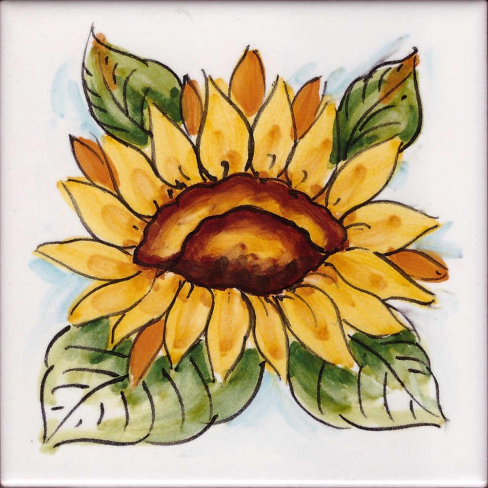 Piastrelle Cucina Con Fiori mattonella cucina - piastrella fiori di vietri 04