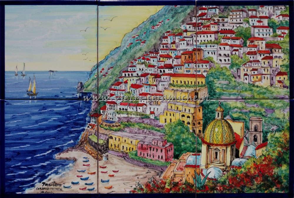 Promozioni Ceramiche di Vietri | Dipinti su Ceramica della Costiera ...