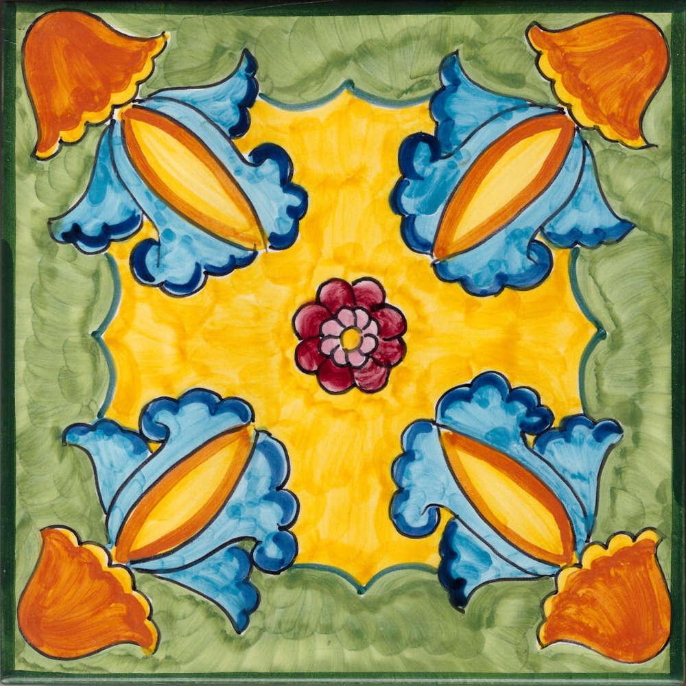 Piastrelle Decorative Per Tavoli piastrella vietri per cucina le amalfitane 34